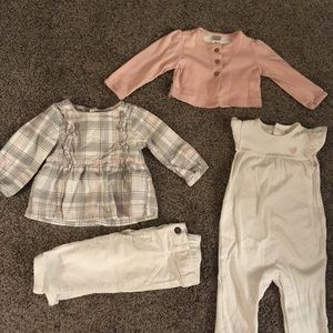 6 month girls outfits
